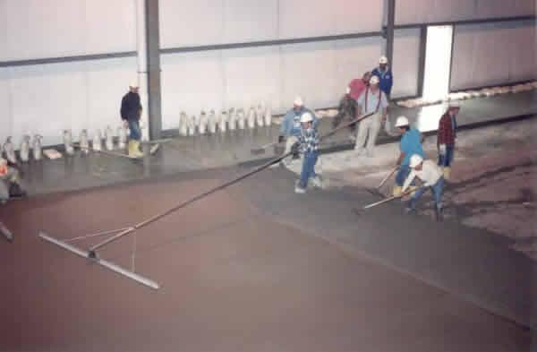 Trap Rock Floor Hardener : Thessen concrete corporation shrinkage compensating